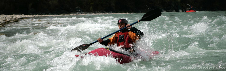 Bhutan Rafting Tour